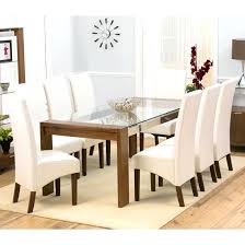 glass cover for dining table rectangle glass dining room table springup co