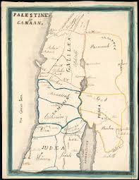 Map Of Canaan File Phebe Ellen Nichols Map Of Palestine Or Canaan 1853 Jpg