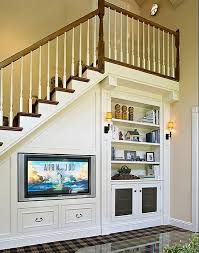 creative built in under stair storage solutions http