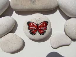 Butterfly Desk Accessories 180 Best Painted Stones Images On Pinterest Painted Stones