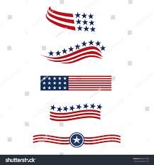 Star Flags Usa Star Flag Logo Stripes Design Stock Vector 602277308