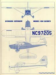 stinson voyager 108 for sale westin s stinson 108 page