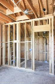how to design and build a room above the garage step 1 framing since the bathroom is the focal point it needed to be as big as possible