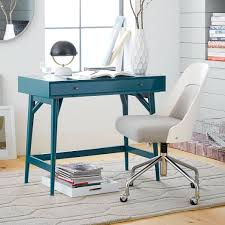 west elm mid century mini desk small space solution we designed this mini version of our best