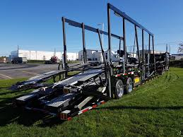 car carrier truck 2018 western star 4900sf car carrier car hauler arriving in