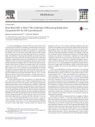 PDF How Much HIV is Alive The Challenge of Measuring Replication