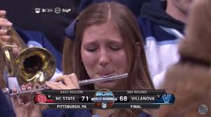 Crying Girl Meme - march madness and sadness the story behind the crying villanova