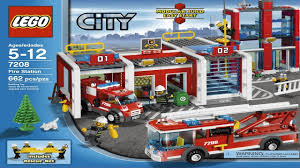 7208 lego fire station city fire instruction booklet youtube