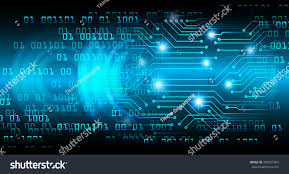 background photos for computer dark blue color light abstract technology stock illustration