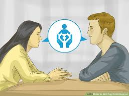 how to not pay child support with pictures wikihow
