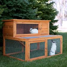 Large Rabbit Hutch Rabbit Cages U0026 Hutches Hayneedle