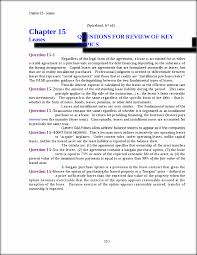 intermediate spiceland solution ch 15 chapter 15 leases