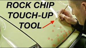 rock chip touch up tool museum 911 youtube
