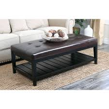 Coffee Table With Storage Uk - ottoman round storage ottoman coffee table inspiring dark brown