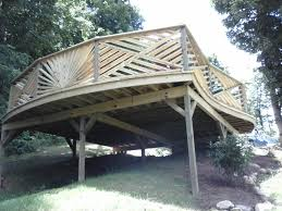 a fancy deck built by the deck builder in dandridge tn u2013 the deck