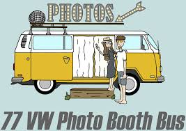 van volkswagen hippie 77 vw photo booth bus 77 vw photo booth bus