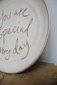 you are special plates you are special plate parrish pottery