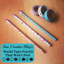 Washi Tape What Is It Mod Podge Washi Tape Pencils That Won U0027t Peel Tutorial Hello