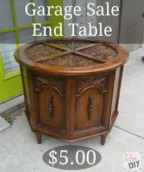How To Make End Tables by How To Make A Repurposed Pet Bed Out Of An Old End Table
