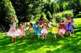 garden fairy funny faces family entertainment