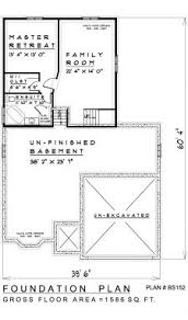 backsplit floor plans 4 bedroom backsplit house plan bs152 1579 sq feet