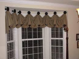 kitchen bay window curtain ideas valances for bay windows bay window valance distinctive