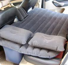 inflatable mattress for back seat of car with electric pump free