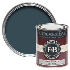 farrow u0026 ball interior u0026 exterior hague blue no 30 gloss paint