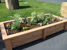 garden ideas diy raised garden beds on concrete creative and