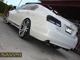 burgundy lexus with black rims gs savini wheels
