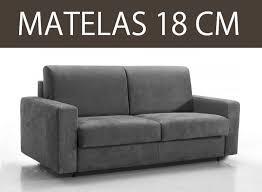 matelas canap convertible canape convertible rapido matelas 18 cm d epaisseur master couchage
