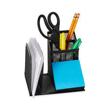 Post It Desk Organizer Post It Holder Office Supplies Ebay