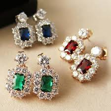 emerald earrings for the emerald and sapphire drop earrings royal crush