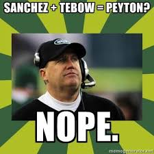 Tebow Meme - tim tebow peyton manning memes did mark sanchez get f cked by a