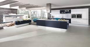 cuisines alno cuisine design avec meuble suspendus et idée deco séparation d