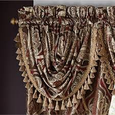 Croscill Curtains Discontinued Bradney Damask Window Treatment By Croscill