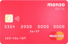 Sle Of Credit Card Statement by Monzo Bank