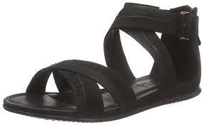 ecco touch sandal women u0027s ankle strap sandals amazon co uk