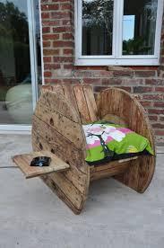 Table De Jardin En Palette by 933 Best Palette Recyclage Images On Pinterest Wire Spool Wood