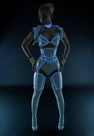 Tron Halloween Costumes 25 Futuristic Costume Ideas Alien Makeup