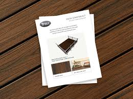 the trex blog planning your deck with trex u0027s easy deck starter