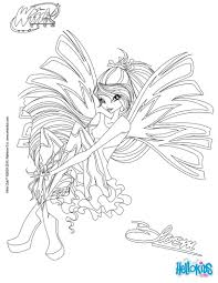 Winx Club Bloom Harmonix Coloring Pages Best Of Drawing Flora