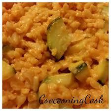 cuisiner courgettes risotto à la tomate et aux courgettes recette tupperware