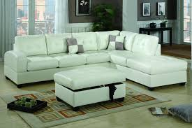 Cream Leather Chaise Cream Leather Sectional Sofa Sofas