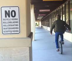 Unicycle Meme - unicycle wasn t prohibited know your meme