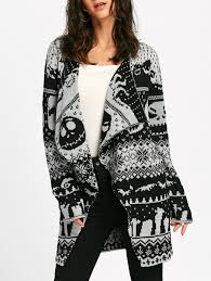halloween sweaters sweaters u0026 cardigans white and black l halloween skull knitted