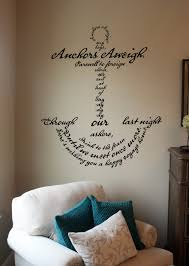 anchors aweigh song anchor wall decal trading phrases anchors aweigh song anchor wall decal