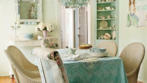 Beachy Dining Room by 100 Comfy Cottage Rooms Coastal Living
