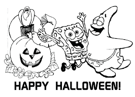 Spongebob Happy Birthday Coloring Pages The Very Funny Coloring Coloring Pages Sponge Bob
