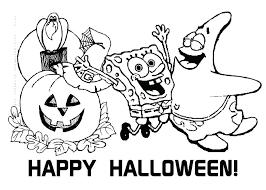 Spongebob Happy Birthday Coloring Pages Free Printable Coloring Free Printable Coloring Pages